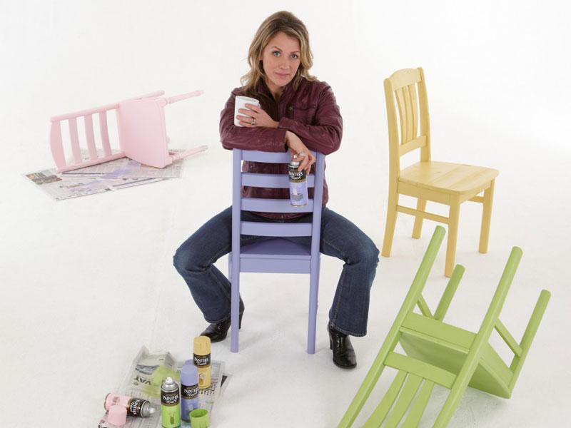 Sarah Beeny: Rust-Oleum Spray Paint