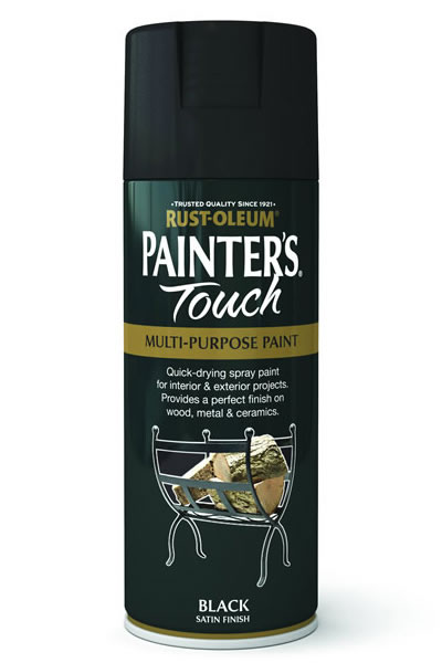 Painter's Touch Black Satin