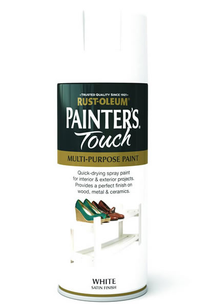 Painter's Touch White Satin