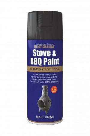 Stove & BBQ Silver Matt