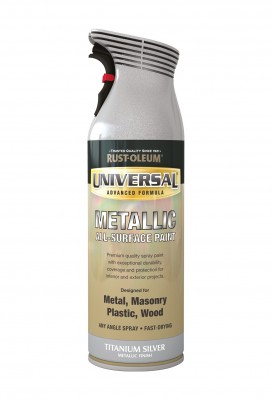 Universal Metallic All-Surface Spray Paint 400ml