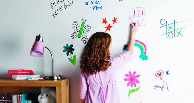 Create a white board rustoleum spray paint for Homebase design your own bedroom