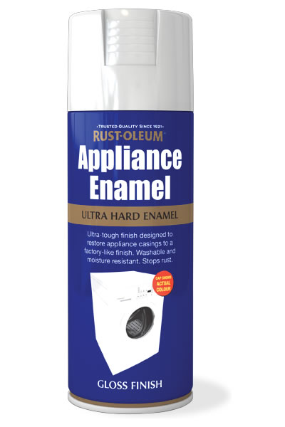 Appliance Enamel White Gloss