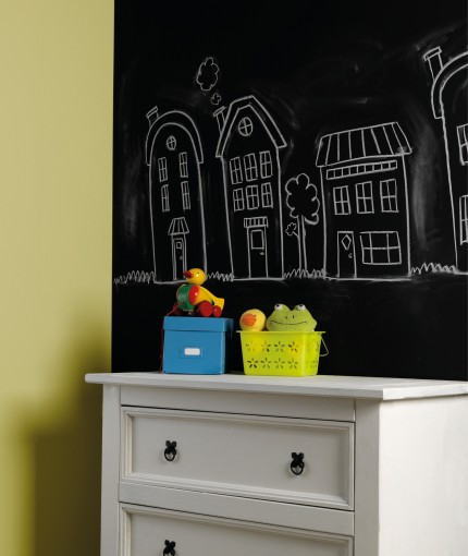 Chalkboard Paint (Brush) - Chalkboard Paint Wall