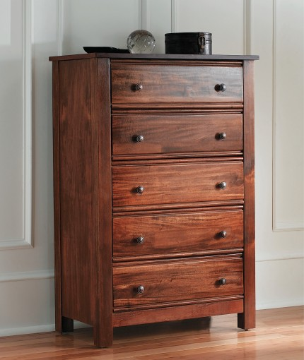Polyurethane Finish - Crystal Clear Chest of Drawers
