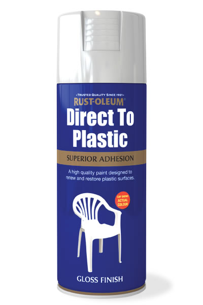 Direct To Plastic White Gloss