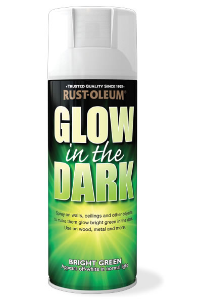 glow in the dark rustoleum spray paint. Black Bedroom Furniture Sets. Home Design Ideas