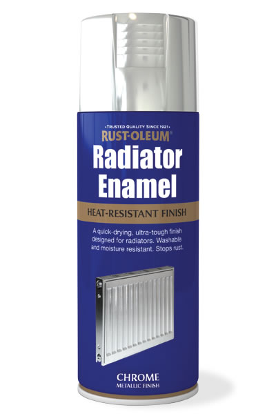 Radiator Enamel Chrome
