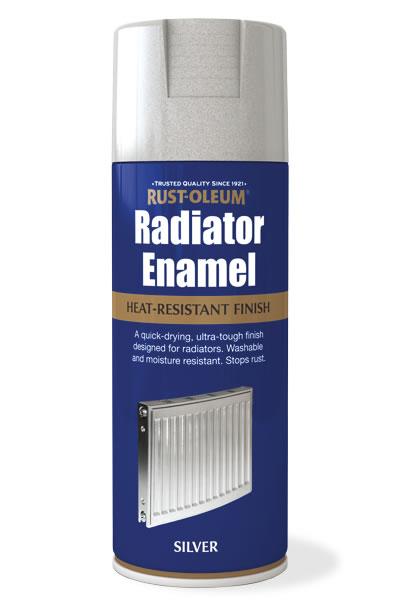 Interior Spray Paint Radiator