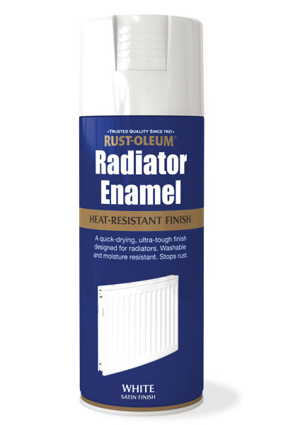Radiator Enamel White Satin