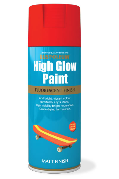 High Glow Paint Red Matt
