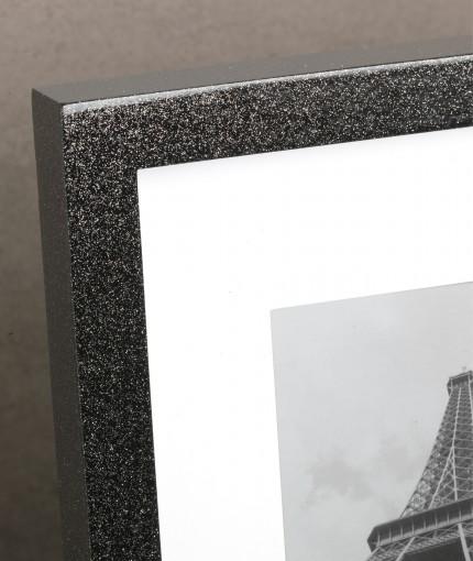 Glitter (Brush) - Silver Glitter Frame