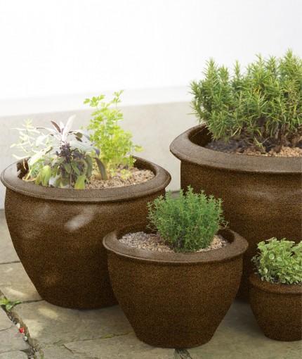 Textured - textured planter