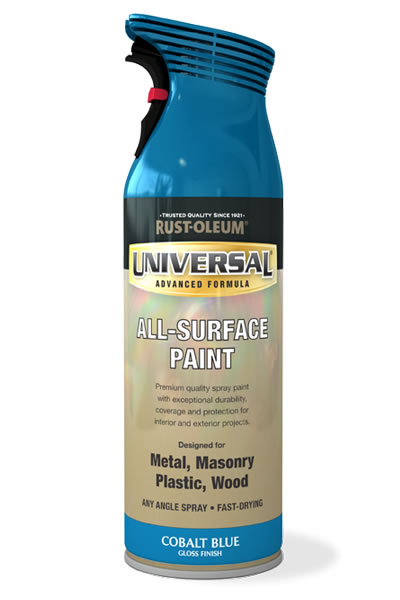 Universal All Surface Spray Paint Cobalt Blue