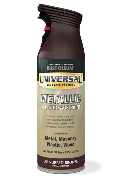 Universal Metallic All-Surface Spray Paint Oil Rubbed Bronze