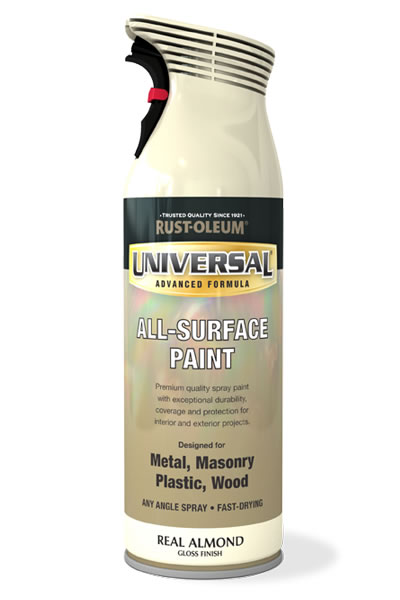 Universal All Surface Spray Paint Real Almond