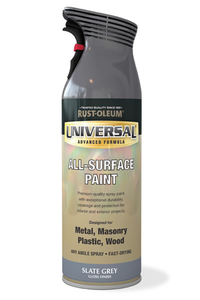 Universal All Surface Spray Paint Slate Grey
