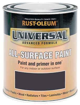 Universal All-Surface Paint Satin Dark Grey