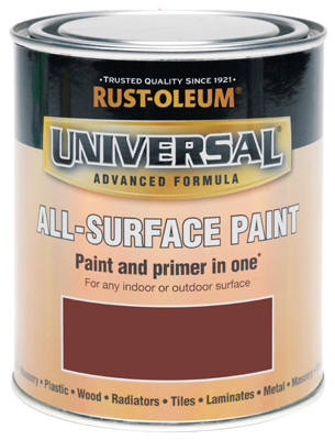 Universal All-Surface Paint Deep Red