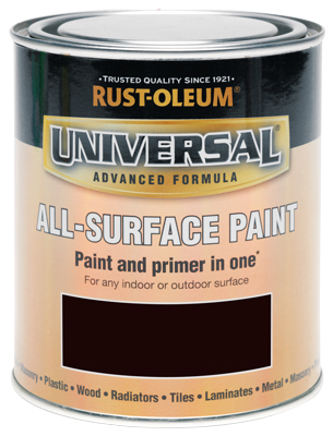 Universal All-Surface Paint Espresso Brown