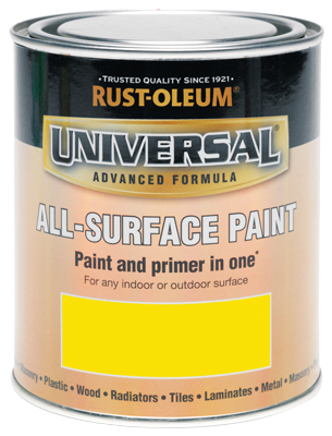 Universal All-Surface Paint Canary Yellow