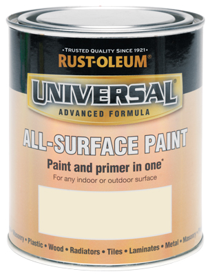 Universal All-Surface Paint Heirloom White