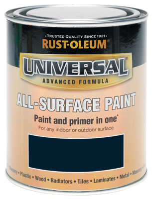 Universal All-Surface Paint Navy Blue