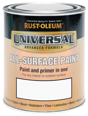 Universal All-Surface Paint Satin White