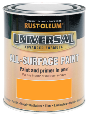 Universal All-Surface Paint Sunset Orange