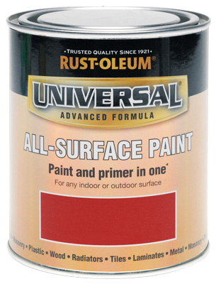 Universal All-Surface Paint Cardinal Red