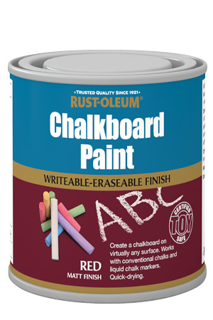 Chalkboard Paint Red 250ml