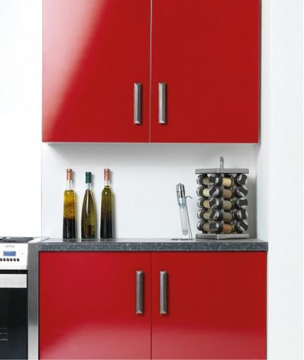 Mode - Mode Carmine Red Kitchen