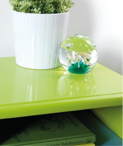 Mode - Mode Lime Green Cabinet