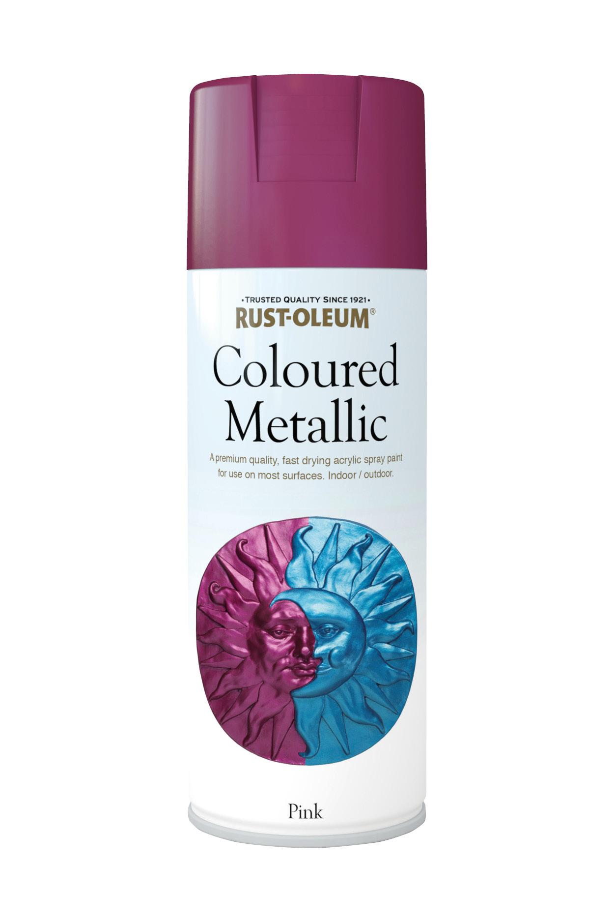 Coloured Metallic 400ml