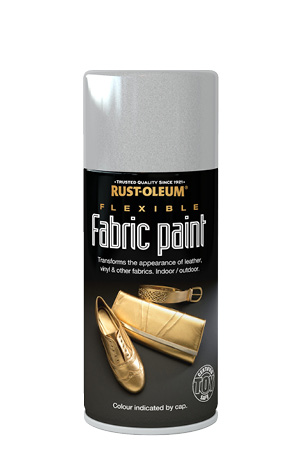 Flexible Fabric Paint Silver