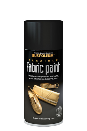 Flexible Fabric Paint Black