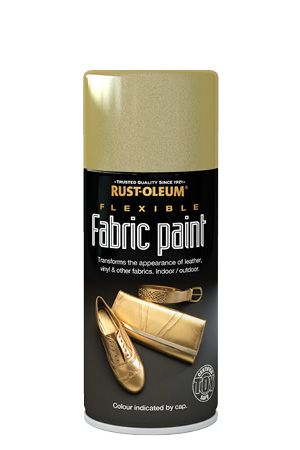 Flexible Fabric Paint Gold