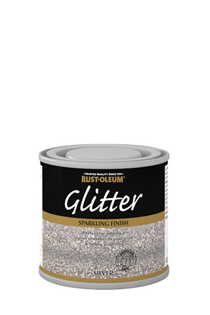 Glitter brush rustoleum spray paint www for How to make silver paint
