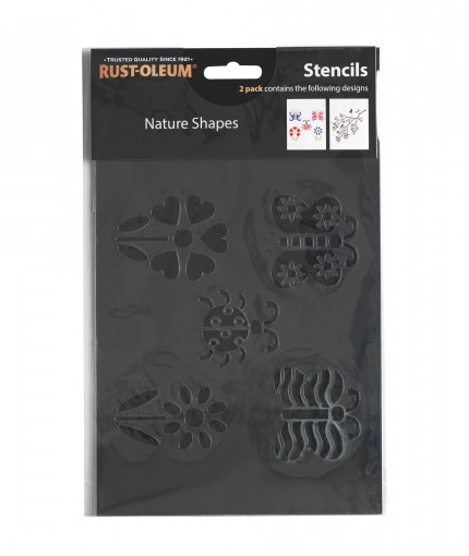 Stencils - Nature Shapes Stencil