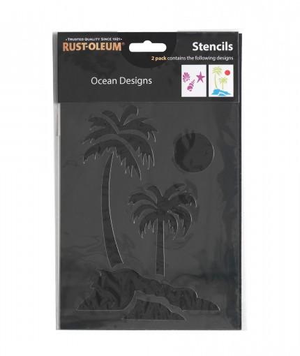 Stencils - Ocean Designs Stencil