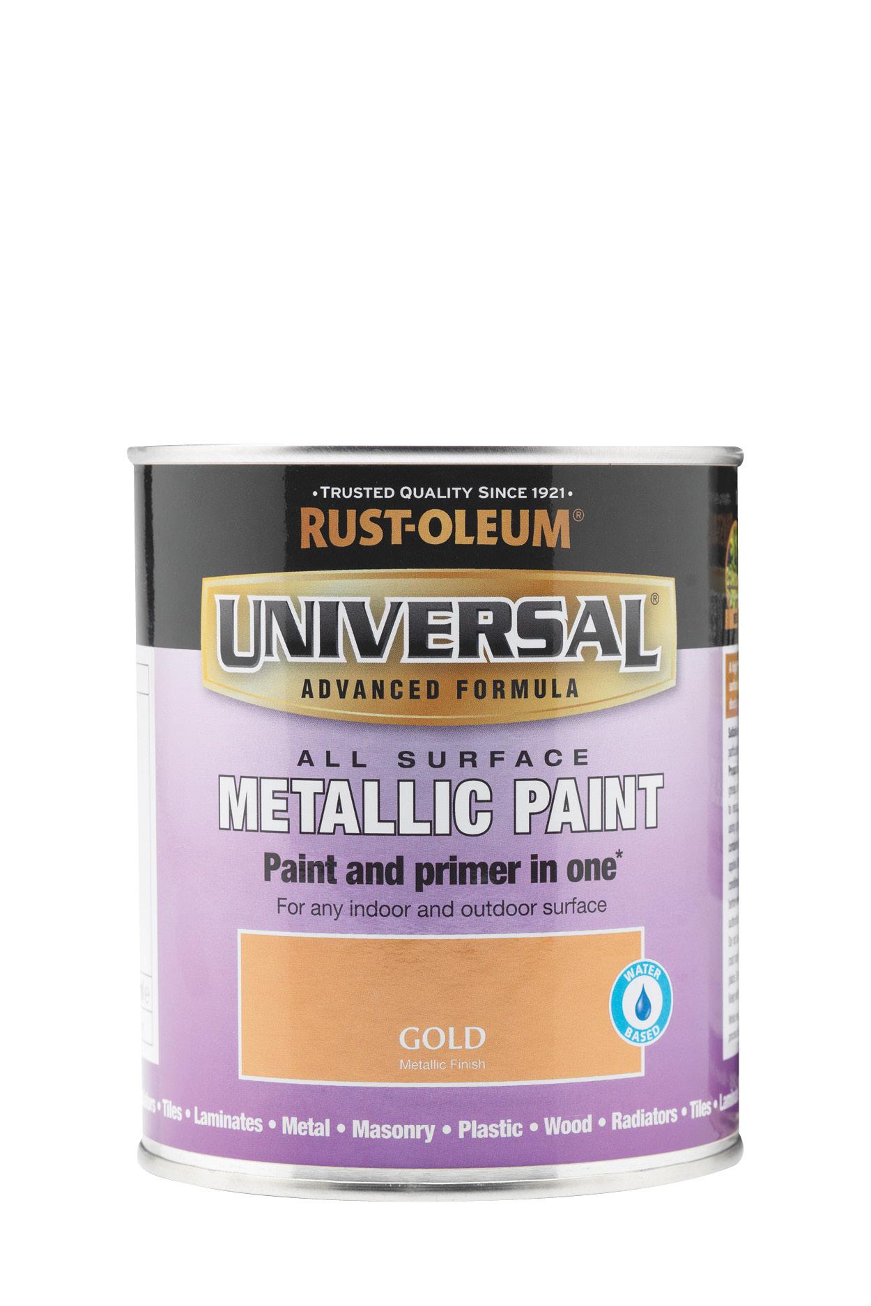 Universal Metallic All-Surface Paint 750ml