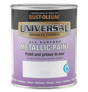 Universal Metallic All-Surface Paint Silver