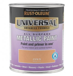 Universal Metallic All-Surface Paint Gold