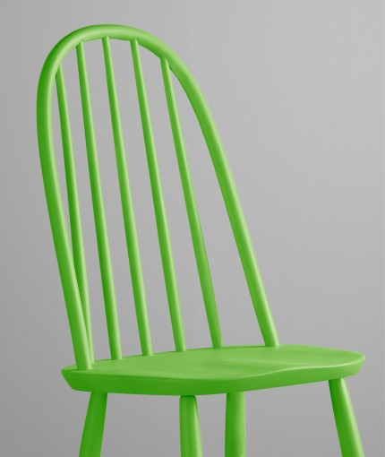 Neon (Brush) - Neon Green Chair