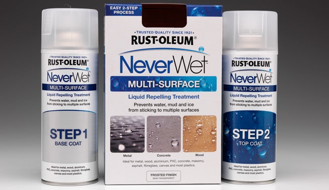 neverwet faqs rustoleum spray paint www. Black Bedroom Furniture Sets. Home Design Ideas