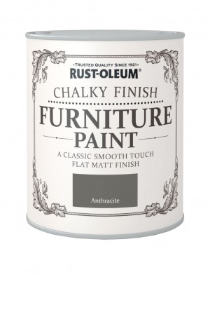 Chalky Finish Furniture Paint Anthracite