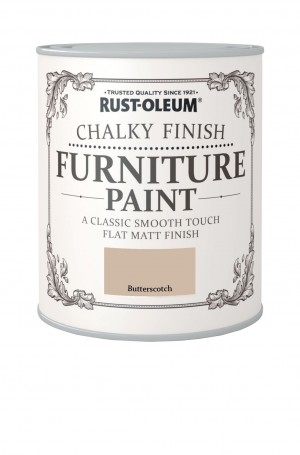 Chalky Finish Furniture Paint Butterscotch