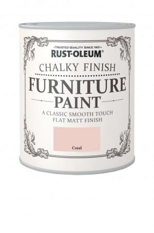 Chalky Finish Furniture Paint Coral
