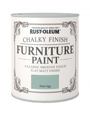 Chalky Finish Furniture Paint Duck Egg