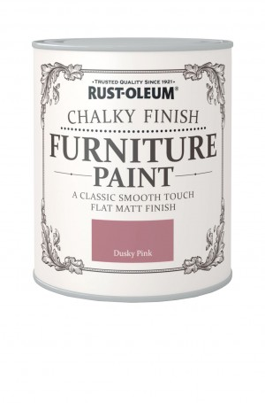 Chalky Finish Furniture Paint Dusky Pink